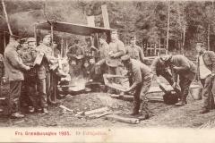 Feltkjøkken 1905